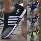 Men's Fashion Sneakers Breathable New Canvas Running Sport Athletic Casual Shoes