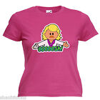 Ooooosh Keith Lemon Inspired Ladies Lady Fit T Shirt 13 Colours Size 6 - 16