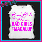 BAD GIRLS GO TO MAGALUF  HEN PARTY HOLIDAY VEST TOP