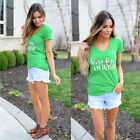 Women Summer Loose Top Short Sleeve Blouse Ladies Casual Tops Soft T-Shirt Soft