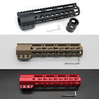 9'' Clamping Slim Keymod Handguard Free Float Picatinny Rail Mount Black/Tan/Red