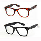 Glasses Wood Stripe Retro Eyeglass Frame Optical Spectacles Clear lens Rx 9001