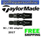 NEW 2017 M1 & M2 TaylorMade Adaptor + Ferrule .335 or .350 for Drivers/Fairways