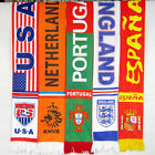 10 Nations Soccer Fan Scarf  for UEFA Championship National Day Independence Day