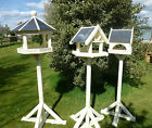 CREAM PAINTED BIRD TABLES WITH SLATE ROOF Wide range of styles and sizes