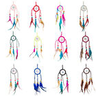 Indian Handmade Dream Catcher Feather Wall Car Hanging Decor Ornament