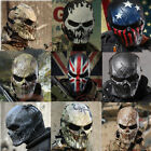 Army Airsoft Paintball Tactical Full Face Protection Skull M
