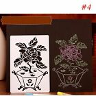 Scrapbooking Hollow Template Paper Card Album Painting Layering Stencils