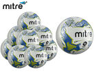 *BRAND NEW* 10 x MITRE 2017-18 - ELEMENT HYPERSEAM MATCH BALL - WHITE/BLUE/LIME