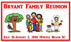 30  FAMILY REUNION FAVORS personalized magnet party  cookout BBQ