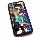 American symbols Case Cover For Samsung GalaxyS3 S4 S5 S6 Note 2 3 4 5