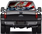 Haley Davidson -Pick-Up Truck Perforated Rear Windows Graphic Decal,  Decal