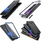 Luphie Aluminum Metal Bumper Case Cover Protective For Samsung Galaxy S8 S8 Plus