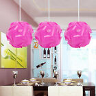30pcs IQ Puzzle Jigsaw Light Lamp Shade Ceiling Modern Design Light Shade S M L