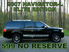 2007+Lincoln+Navigator+L+%28Long+Version%29+4WD+ULTIMATE+++%7E%2499+NO+RESERVE%7E