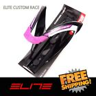 Elite Custom Race Water Bottle Cage Bike - Black Purple