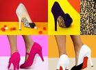 Shoe Licks High Heel Shoe Stickers 'Pimp My Heel' Designer Footwear Accessories