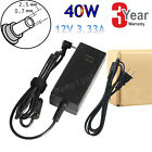 40W Adapter for Samsung Chromebook XE303C12 Power Supply Charger Cord 2.5*0.7mm