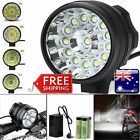 14x T6 LED 3 Modes Bicycle Lamp Bike Light Headlight Cycling Torch+Battery+Pack
