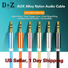 HOT Gold 3.5mm Male to Male Car Aux Auxiliary Cord Stereo Audio Cable for iPod
