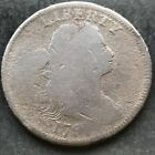 1797 Large Cent Draped Bust One Cent nice early coin 4834