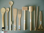 Kitchen Cooking Utensils / Tableware from Natural Wood. Choice of Model. NEW