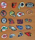 DIY NFL MLB Sport Baseball Football Team Sew Iron On Embroidered Patch Applique
