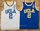 Lonzo Ball #2 UCLA Bruins College BasketBall Jersey NCAA White Blue