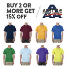 AAA ALSTYLE 1301 MENS PLAIN T SHIRT CASUAL SHORT SLEEVE SHIRTS BASIC COTTON TEE image