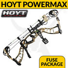 Hoyt Powermax RTS Compound Bow - Fuse Package - Bowhunting and 3D Archery