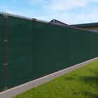 Customize 4' FT Privacy Fence Screen Green Commercial Windscreen Shade 161-320