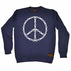Peace Bicycle Chain RLTW SWEATSHIRT cyclist cycling bicycle birthday funny gift