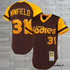 San Diego Padres 1978 Dave Winfield 31 Throwback Baseball Jersey Brown