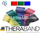 GENUINE THERABAND - 3 Pack [Red-Green-Blue], RESISTANCE BANDS, PHYSIO, YOGA
