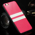 Luxury Design Ultra-thin PU Stripe Leather Case Cover For iPhone 6/6s+Gift Box