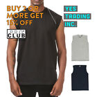 PROCLUB PRO CLUB MENS CASUAL TANK TOP T SHIRT SLEEVELESS SHIRTS MUSCLE TEE GYM image