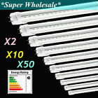 1-100Pack 20W 4Ft 3000K 4000K &6500K LED T8 Bulb Fluorescent Tube Light Lamp