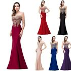 Long Prom Dresses Evening Party Formal Bridesmaid Dresses Wedding Gown Dress