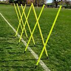 5ft & 6ft Agility Slalom Poles | Pack of 8 or 16 | *Lowest Price*
