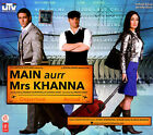 Main Aurr Mrs Khanna  Bollywood Film Soundtrack / Injdian Ci *NO CASE DISC ONLY*