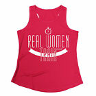 Real Women Train WOMENS DRY FIT VEST birthday gift fitness fashion running