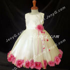 MFIF7 Baby Girls Wedding Christening Formal Cocktail Pageant Prom Gown Dress