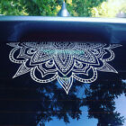 Half Mandala car decals wall vinyl decal mandala sticker boh