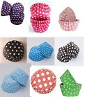 Polka Dot Spotty CUPCAKE CASES Muffin Baking  48, 60, 72, 84 & 180 Party liners