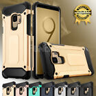 For Samsung Galaxy S8 Plus Rugged Silicone Rubber Shockproof Armor Case Cover