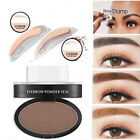 Fashion Eyebrow Shadow Definition Makeup Brow Stamp Powder Palette Natural