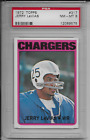 1972 Topps Jerry LeVias #317 Football Card NM-MINT PSA 8 For Sale