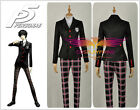 [IN Stock] Persona 5 Protagonist Uniform Cosplay Costume Coat Shirt Pants Custom