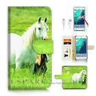 Google Pixel Wallet Case Cover AJ20202 White Horse