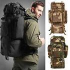 Outdoor Sports Military Rucksack Backpack Camping Hiking Trekking Luggage Bag